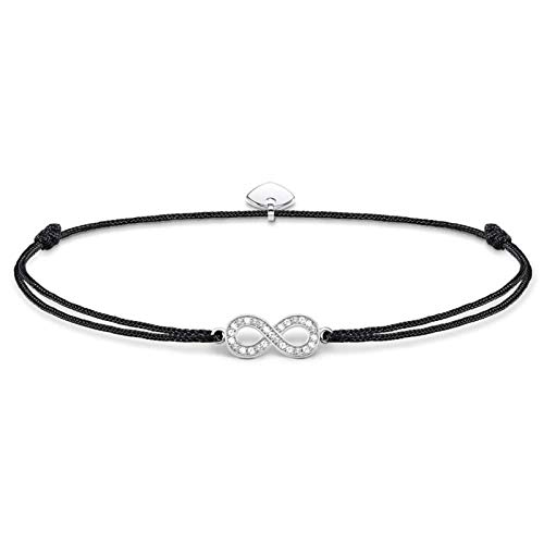 Thomas Sabo Damen-Fußkette Little Secret Infinity 925 Sterling Silber LSAK004-401-11-L27v