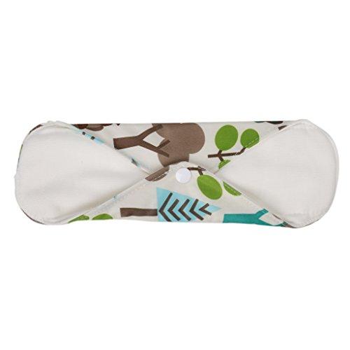 Gazechimp Bio-Baumwolle waschbare Stoffbinden Slipeinlage 3er /4er Set gemischt2