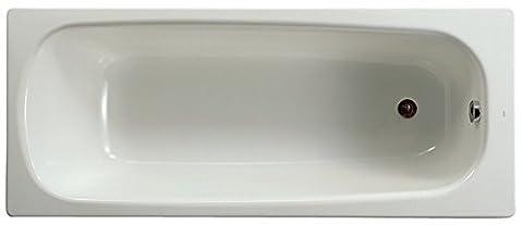 Baignoire 150 X 70 - Baignoire CONTESA 150x70cm, en acier émaillé (épaisseur