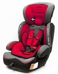 Babyauto Babyauto Sillita De Seguridad Infantil Modelo Konar Grupo 1-2-3 Rojo