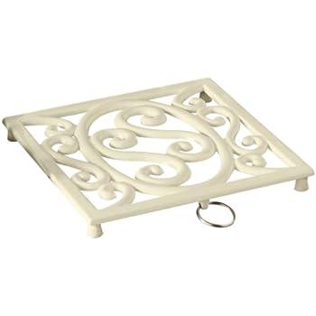 Premier Housewares Cast Iron Trivet - Cream