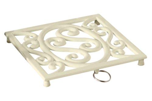 Premier Housewares Cast Iron Trivet - Cream Test