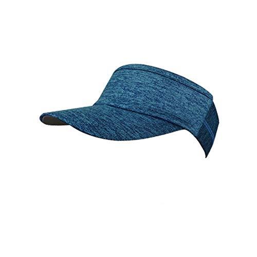 QX-DIMDIM Outdoor-Sport-Haar mit Kapuze im Freien im Sommer leer Hut Reitsport weiches Schlapphut Haar mit Kapuze Schweiß (Color : 03, Size : F)