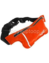 Alcoa Prime Unisex Ultrathin Outdoor Running Waist Bag Sports Pockets Bag - Orange