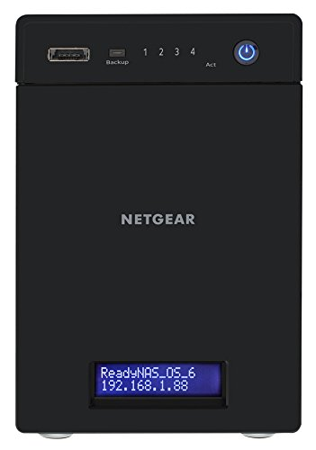 318hBNxDIRL - NETGEAR RN202-100NES ReadyNAS Personal Cloud Network Attached Storage (Diskless), iTunes Server, Plex Server, DLNA Media Streaming and RAID