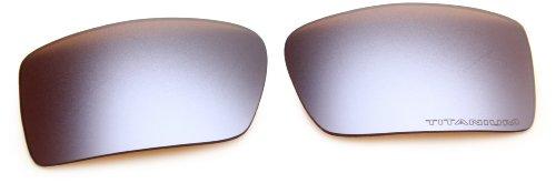 Oakley GASCAN 13-666 TITANIUM IRIDIUM Kit de lente de repuesto auténtica de las gafas de sol