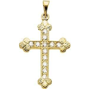 Montage Pendentif Croix-Cross Pendant Mounting
