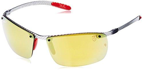Ray-Ban Herren Mod. 8305M Sonnenbrille, Silber, 64