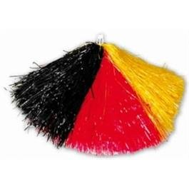 Orlob Cheerleader Pompon in Deutschland Farben zu WM EM Karneval Fasching