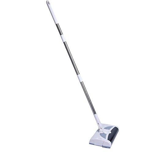 Swivel Mop (Kobwa 2 in 1 Swivel Sweeper Schnurlos Wiederaufladbar für Fegen und Mop - White)