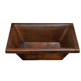 Thompson Traders BPU-1914BC Diego Black Copper Bath Sink by Thompson Traders