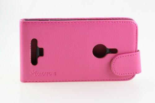 téléphone de poche de sac de couverture de chiquaude de rtabilisation Bumper Nokia Lumia 925 Smartphone rose foncé Business Case