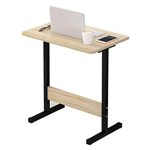 WQZB-Tabelle Laptop-Schreibtisch Laptop Tablett Abnehmbare Computer Halterung Notebook Tisch MDF Material Schreibtisch für Sofa/Schlafzimmer / Überbett (Ahorn Kirsche Holz) (Kirsche-holz-küche-tisch)