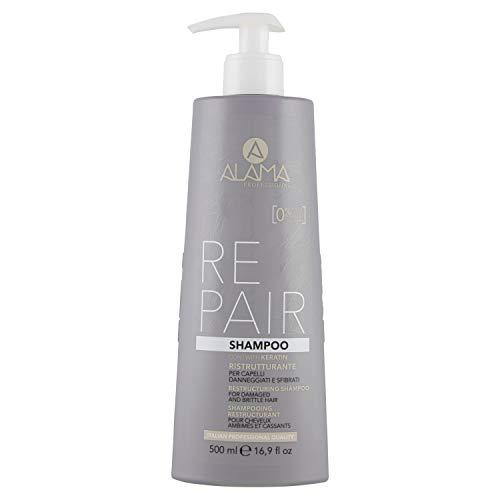 Scheda dettagliata Alama Professional REPAIR Shampoo Ristrutturante per Capelli Danneggiati e Sfibrati 500 ml