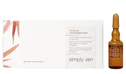 Simply zen densifying concentrated lotion 2x4 fl x 5 ml lozione preventiva concentrata per capelli con problemi di caduta 2x4 fl x 5 ml