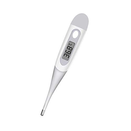 MIAO. Oral-Thermometer für Fieber-Test mit Flexibler Spitze-Körper-Temperatur schnelles Lesen Oral rektale Achsel für Kinder Kinder Erwachsene