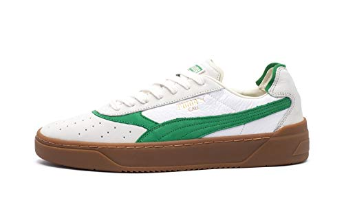 Puma Cali-0 Vintage, puma White-Amazon Green-Gum, 8,5