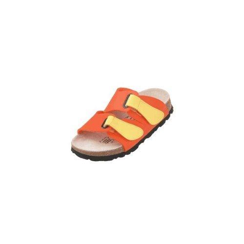 Betula  Step, chaussures à boucle femme mandarine/jaune