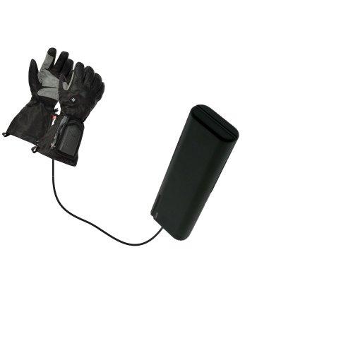 Kit caricabatterie con pile AA avanzato compatibile con Columbia Bugaglove Max con tecnologia TipExchange