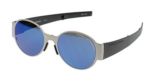 Porsche Design P8592 Salto Titan Faltbare Sonnenbrille - Mittelgroß/Groß