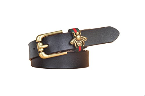 EMMACHOU Little Bee Belt Female Decorative Belt Moda Casual Wild Trend  Ladies Belt Jeans Cinturón, 0e21fa32eb3