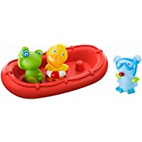 HABA Bath Boat Animal Crew ahoy! | bath toys for toddlers | 303866