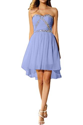 ivyd ressing liebeling courte femme pierres forme de cœur tuell Prom robe cocktail robe robe du soir Violet - Lilas