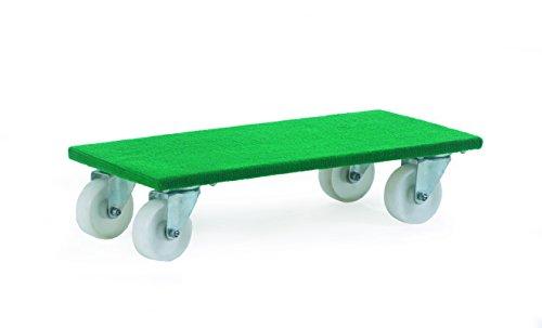 GPC fd201N Teppichböden Dolly Trolley, 600mm L x 300mm W, 200kg Kapazität (2Stück)