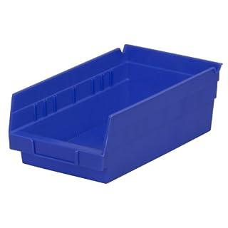 Akro-Mils 30130 Aufbewahrungsbox für Regal aus Kunststoff, 12 Stück, 30,5 x 15,2 x 10,2 cm, 30130