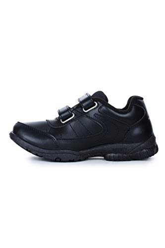 Force 10 (from Liberty) Unisex Black School Shoes - 6 UK/India (39 EU) (8151027100390)
