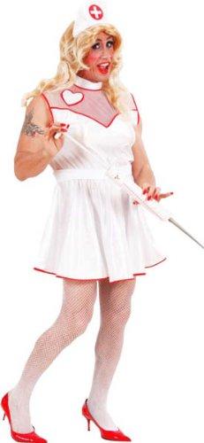 Imagen de widman  disfraz de enfermera de hospital para hombre, talla xl w3218