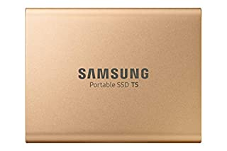 1TB Samsung Portable SSD T5, External, Rose Gold, USB 3.1 Gen2 Type-C (10Gbps), 540MB/s Transfer, 2X Cables, Retail (B07QRQ544G) | Amazon price tracker / tracking, Amazon price history charts, Amazon price watches, Amazon price drop alerts