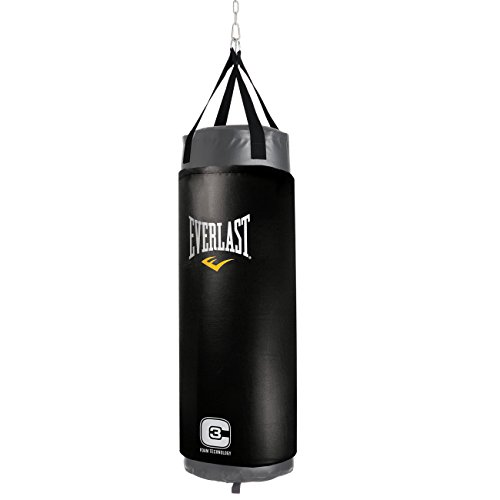 Everlast C3 Foam Heavy Punch Bag - Grey, 4 Feet