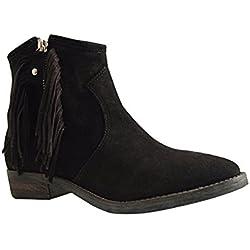 Reqins, Damen Pumps , schwarz - schwarz - Größe: 39