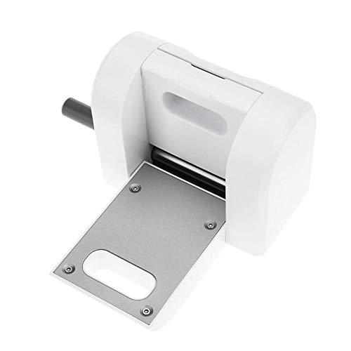 LEIW Die Cutter & Embosser, Card, Paper und andere Materialien Carve Home DIY Tools, Mini Craft für kleine Größe Schneiden Formen Weiß -