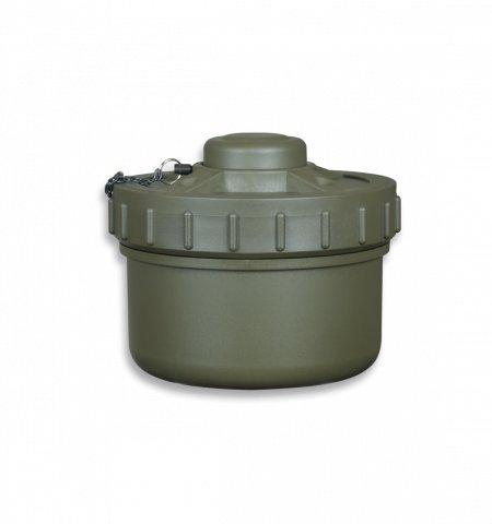 Mina co2 Agua/Polvo Color Verde 16 cm Airsoft Paintball Caza Supervivencia bushcraft Senderismo Camping Outdoor Albainox 35723 + Portabotellas de regalo