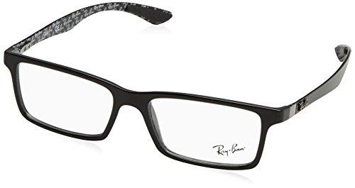 Ray-Ban Herren Brillengestelle 8901 Schwarz (Negro), 55