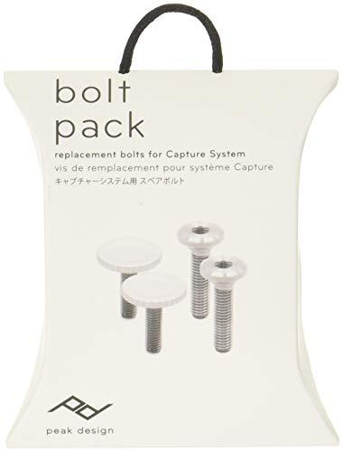 V3 Accessory Pack (Peak Design Bolt Pack Ersatzschrauben für Capture Clip v3 - Silberfarben)