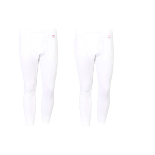Vimal Winter King White Thermal Bottom For Men(pack Of 2)