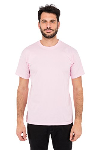 Fruit of the Loom Herren T-Shirt Valueweight T Rosa (Pink 52)