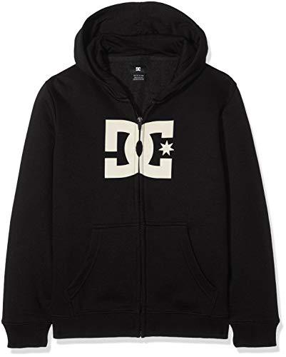 DC Shoes Jungen Fleece Star ZH Sweatshirt, Black, 12/M Dc-fleece-sweatshirt