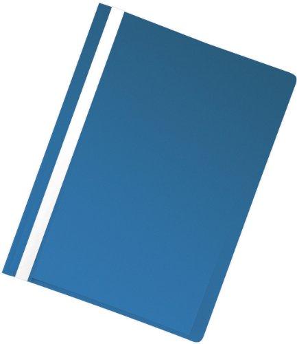 5 Star Schnellhefter leicht Polypropylen mit Beschriftungsstreifen A4 5 Stück blau