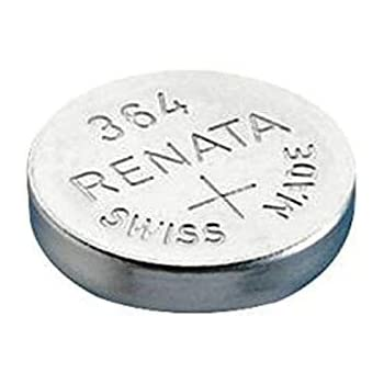 Pilas de óxido de plata para reloj de muñeca, Renata 364