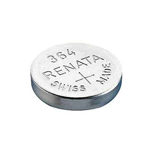 RENATA Lot de 3 Blisters de 1 Pile bouton oxyde argent X364 SR621SW