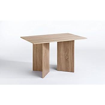 CAVADORE Tisch ANGLE/praktisch kleiner Küchentisch 110 cm breit ...