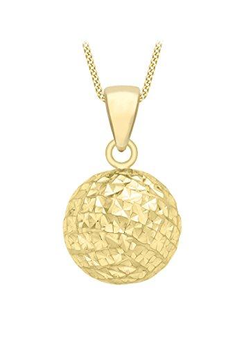 Carissima Gold Damen - Kette 9 k (375) Rundschliff Diamant 1.44.7104
