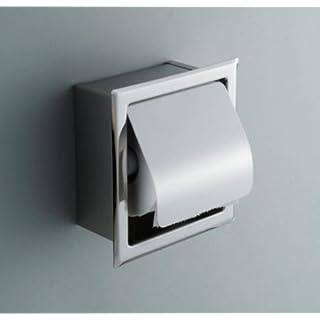 BLYC- Edelstahl Toilettenpapier Fach Papier Halter in-Wall-box