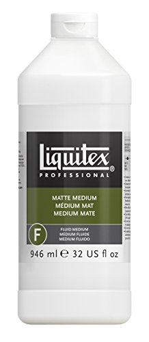 Liquitex 5132 Professional Mattes, M, flüssig 946 ml - 32 Oz Satin