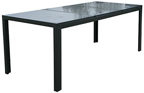 kmh gartentisch jeffry mit 3 massiven granitplatten poliert 208 x 90 103054. Black Bedroom Furniture Sets. Home Design Ideas