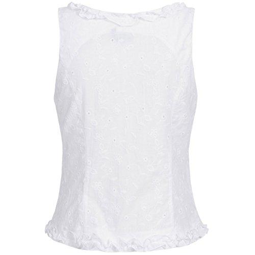 Hess TrachtenMieder Moni in Weiß, Größe:34, Farbe:Weiß - 3